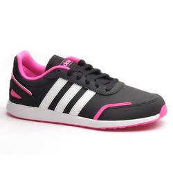 Sportschuhe Walking Adidas Switch mit Schnürsenkel Kinder schwarz/rosa