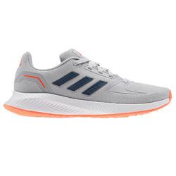 Calçado caminhada desportiva Adidas Falcon Criança cinza