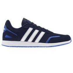 Sportschuhe Walking Schnürsenkel Switch Kinder schwarz/blau