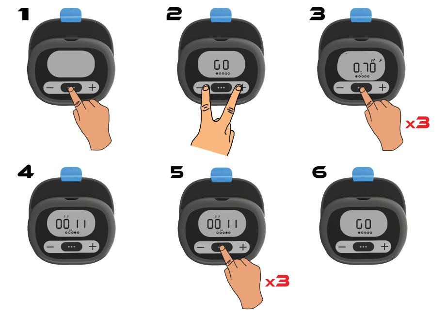 FAQ W100 Distance total