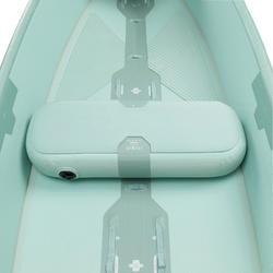 Canoë gonflable Drop Stitch haute pression X500 4 places (2 adultes + 2 enfants)