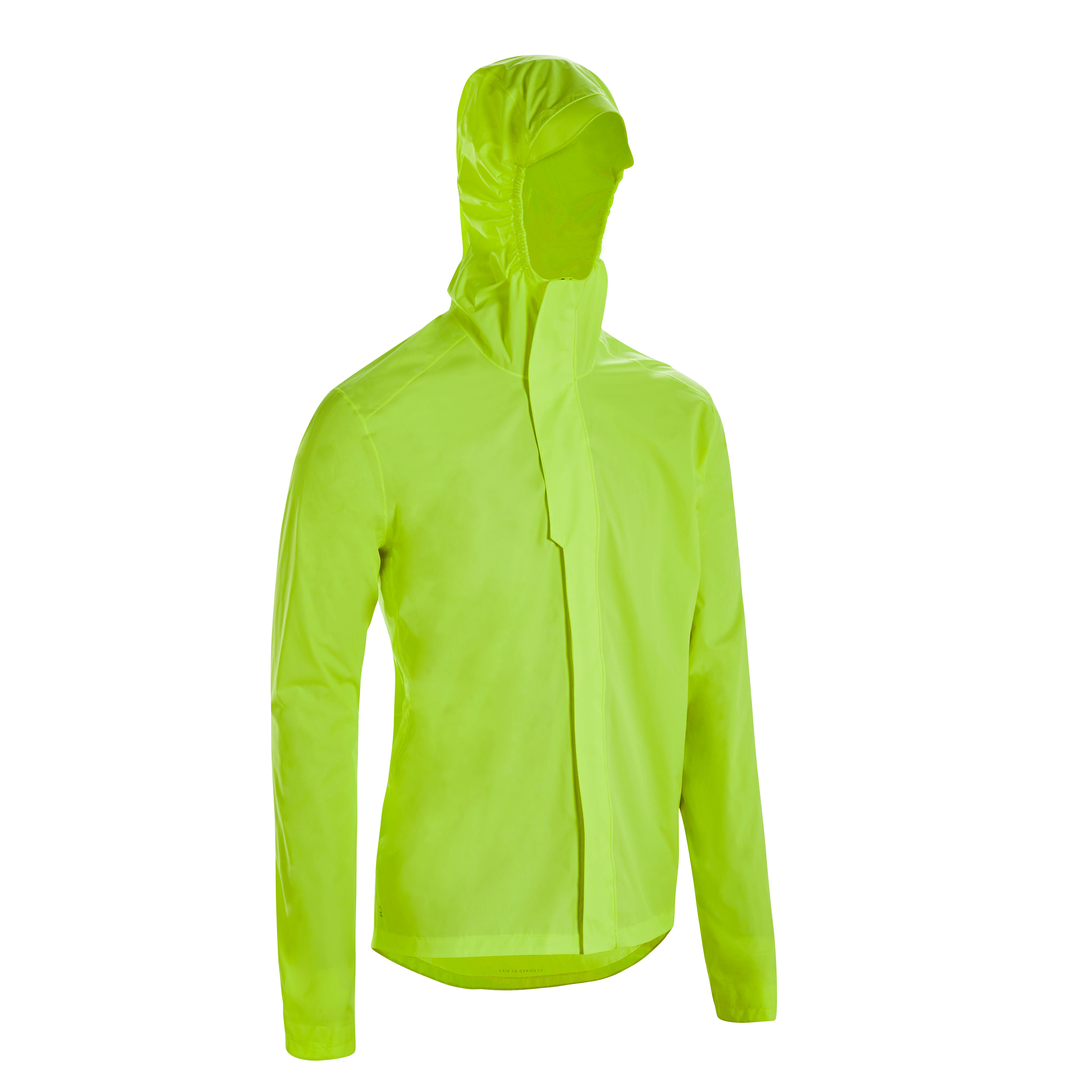 Jachetă Ciclism 100 Bărbaţi