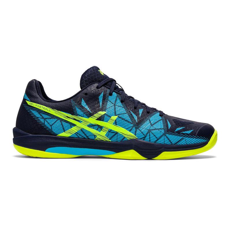 Zapatillas Squash Asics Fastball 3 Hombre Azul/Azul Marino/Amarillo