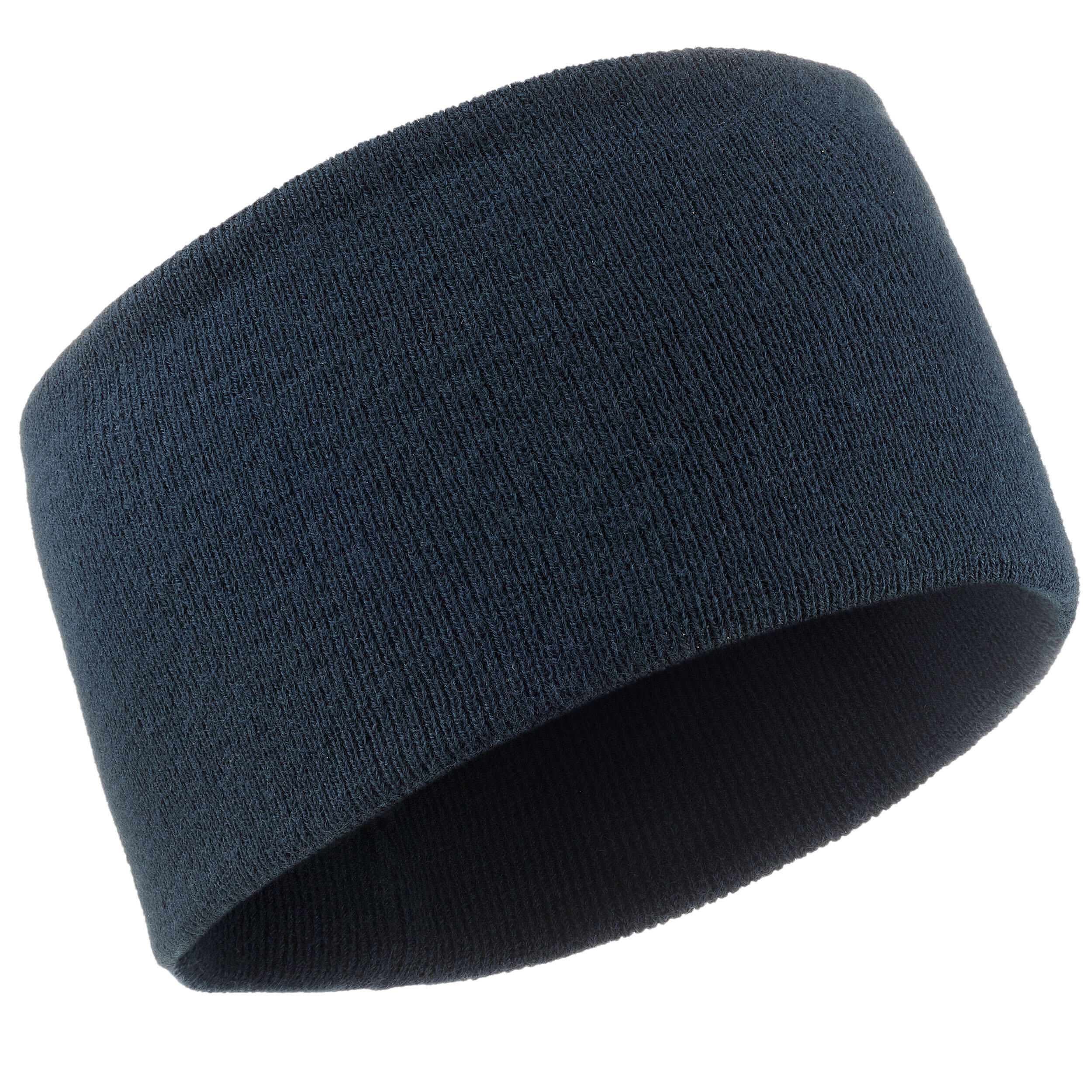 Stirnband Simple Marineblau