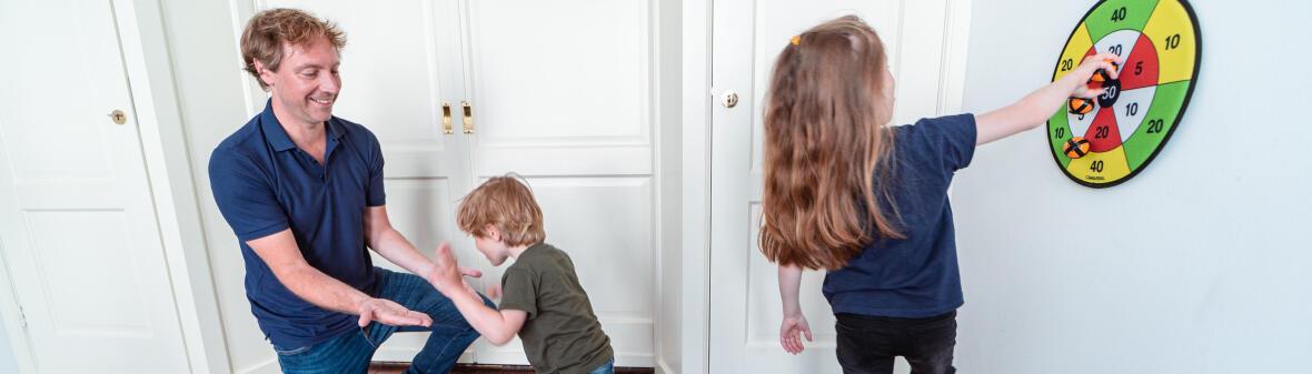 DOSSIER : LE SPORT À LA MAISON POUR LES ENFANTS