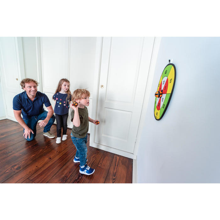 DARTBORD MET KLITTENBAND TRADITIONAL