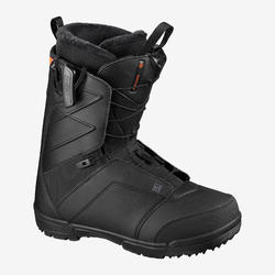 Chaussures de snowboard homme all mountain, Faction, noires
