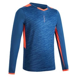 SHIRT F500 JR LONG SLEEVE TURQUOISE