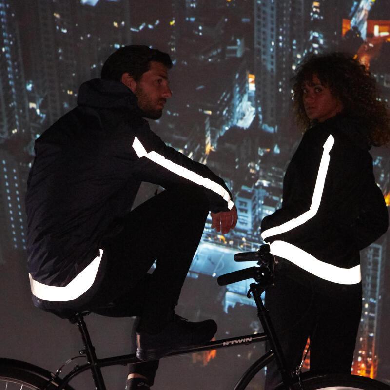 gilet refléchissant à vélo