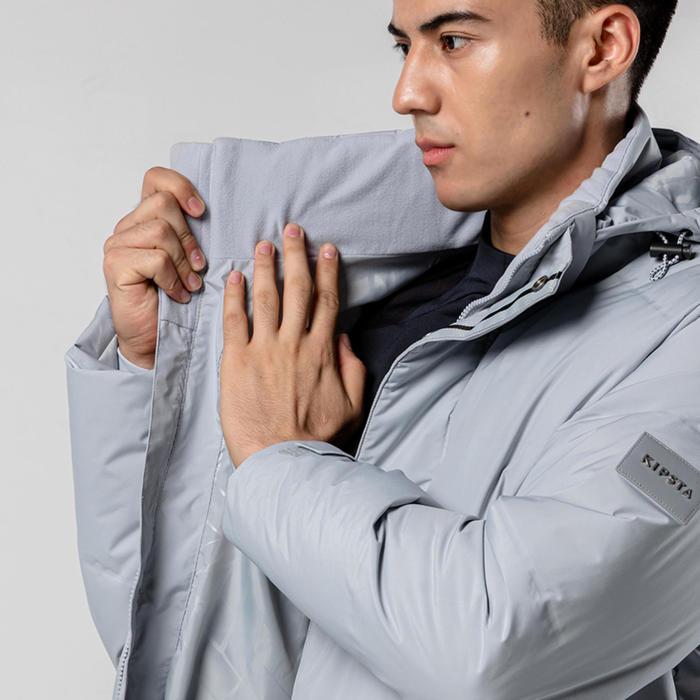 AD Teamsports Long Jacket 900CN - Grey