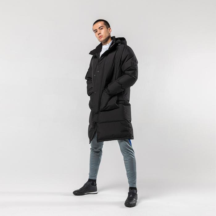 AD Teamsports Long Jacket 900CN - Black