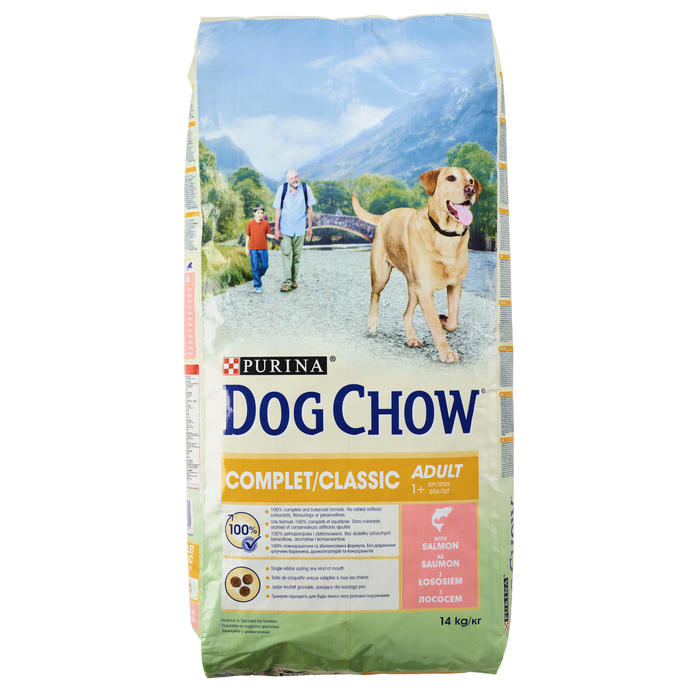 HONDENVOER DOG CHOW COMPLET/CLASSIC ZALM 14KG