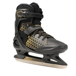 Patins à glace adulte FIT520 WARM homme noir