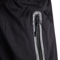 Adult Football Shorts with Zip Pockets F500Z - Black/Carbon