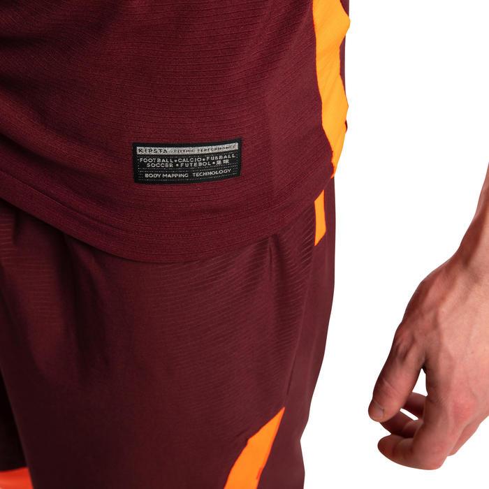 成人款足球運動衫CLR - 勃根地紅