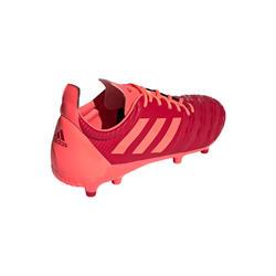 rugbyschoenen voor volwassenen Malice FG Adidas, voor droog terrein, oranje