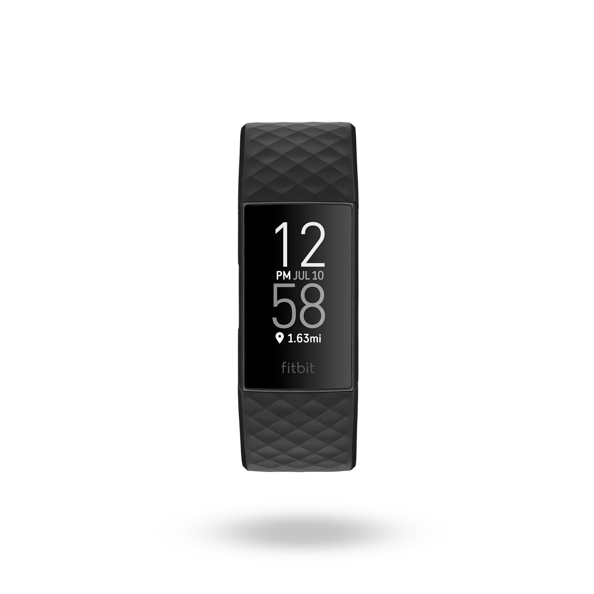 Fitnessarmband Charge 4 schwarz | Schmuck > Armbänder > Fitness-Armbänder | Fitbit
