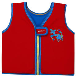 SEA SQUAD SWIMVEST IM RED/BLUE