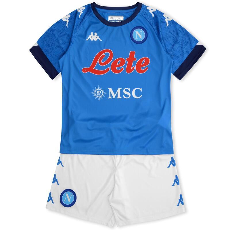 Completo Napoli Jr 2020-2021 Kombat Kit