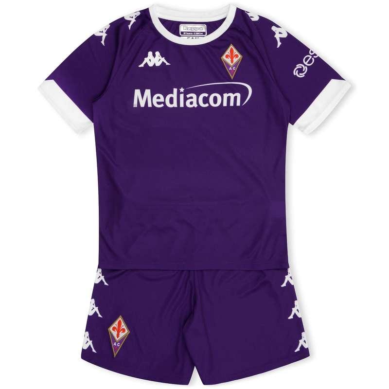 Maglie calcio uff it Sport di squadra - Completo Fiorentina JR 20/21 KAPPA - Abbigliamento calcio