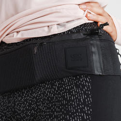 Running Comfortable Belt for Smartphone of any size and Keys - black