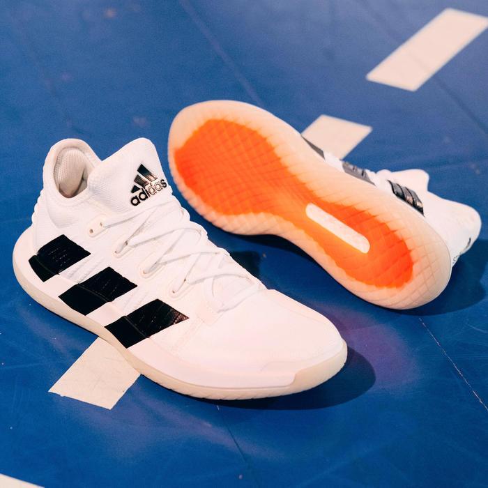 Monasterio Posicionar fragancia  Zapatillas de Balonmano Adidas STABIL GEN Adulto Blanco Negro ADIDAS    Decathlon