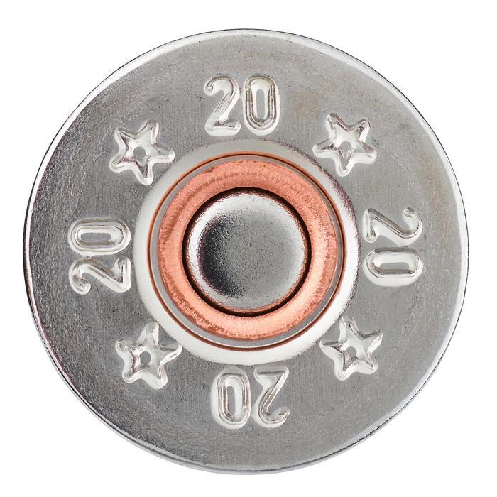 CARTOUCHE L100 24G HAUTE PRESSION CALIBRE 20/70 BILLE ACIER N°4X25