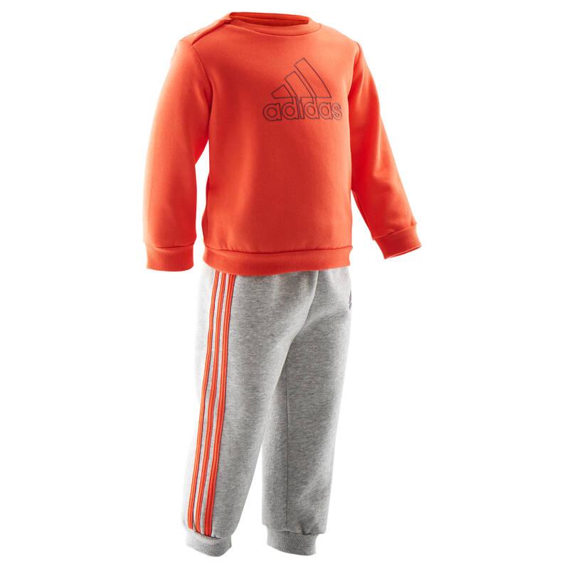 OBLEČENÍ CVIČENÍ PRO NEJMENŠÍ Cvičení pro děti - DĚTSKÁ SPORTOVNÍ SOUPRAVA ADIDAS - Oblečení pro děti od 1 do 6 let
