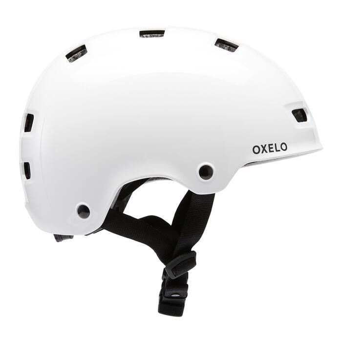 Capacete para Patins/Skate/Trotinete MF500 Branco