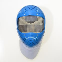 Maschera scherma bambino blu