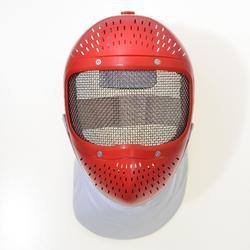 Maschera scherma bambino rossa