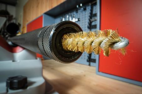 Vītņstobru ieroču tīrīšanas komplekts