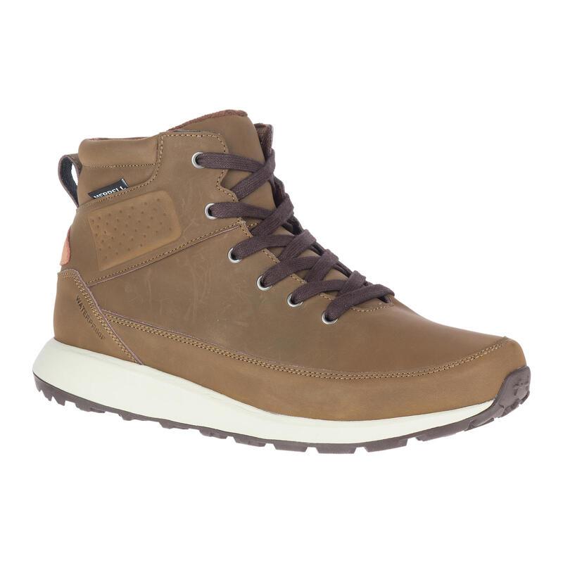 Chaussures en cuirs et imperméables de randonnée - Merrell Billow - Homme