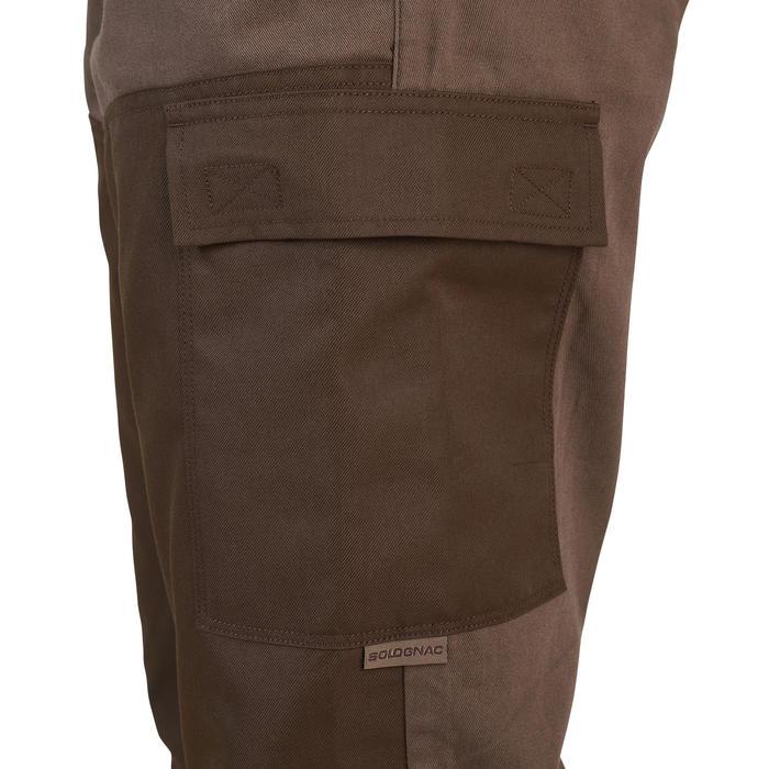 Pantalon chasse renfort 100 Marron