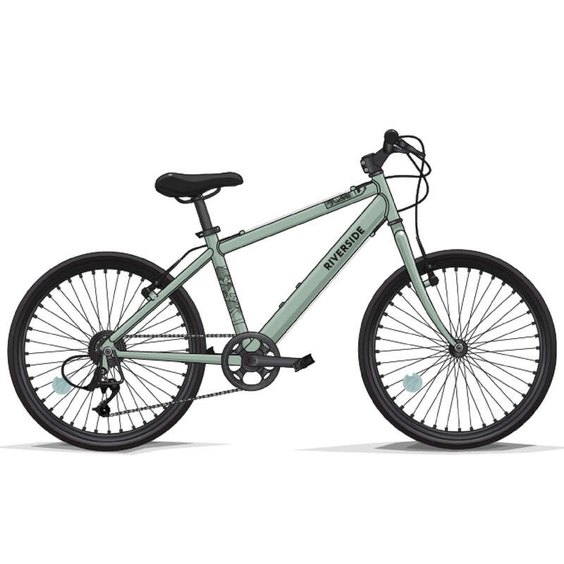 HİBRİT BİSİKLETLER - 6 / 12 YAŞ Çocuk Bisikleti - RIVERSIDE 900 HİBRİT BİSİKLET BTWIN - All Sports