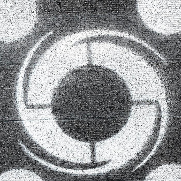 CIBLE MOUSSE FIELDLOGIC BLACK HOLE LARGE 59 x 52 x 28 cm ARCHERIE