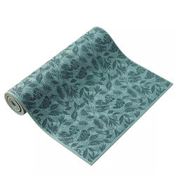 8 mm Comfort Gentle Yoga Mat - Green Leaf