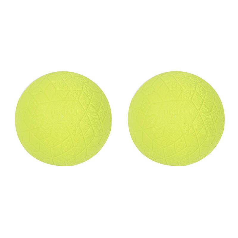 Balles mousse soft One Wall SPB 500 Jaune (x2)