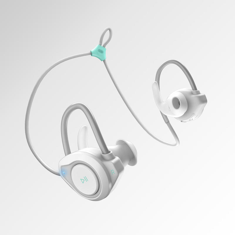 Auriculares Running Kalenji 500 Adulto Blanco Inalámbricos Bluetooth