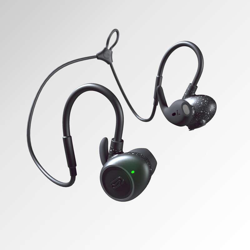 SMARTPHONETILLBEHÖR Elektronik - Hörlurar KALENJI 900 svarta KALENJI - Hörlurar och MP3-spelare