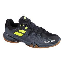 Calçado de Badminton, Squash, Desportos no Interior Shadow Spirit Homem Preto