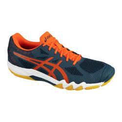 Chaussure de Badminton, Squash et Sports indoor GEL-BLADE 7 Bleu/rouge