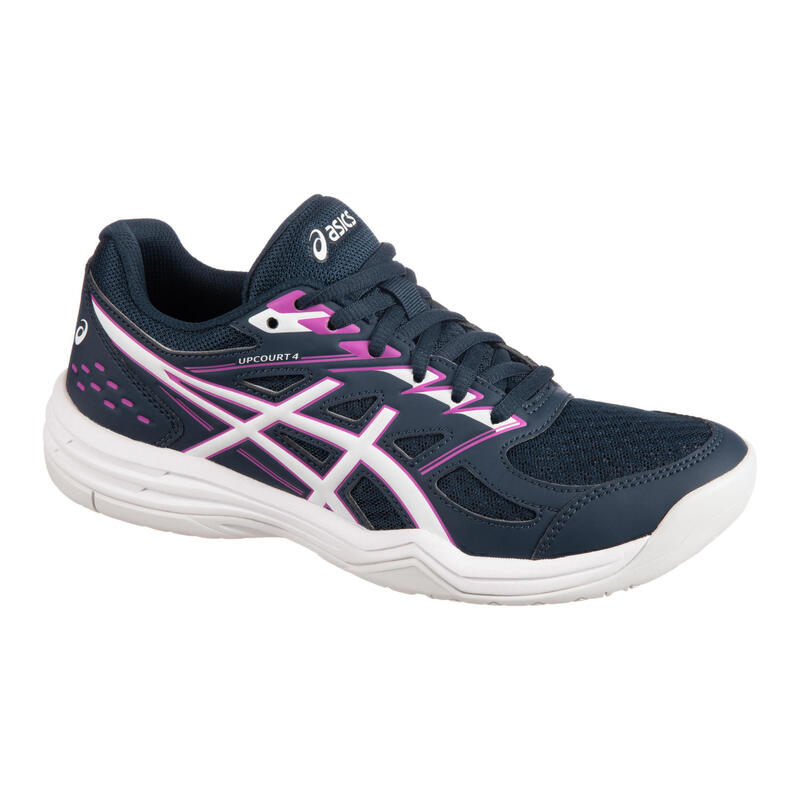 Badminton, Squash, Indoor Sports Shoes Upcourt 4 - French Blue