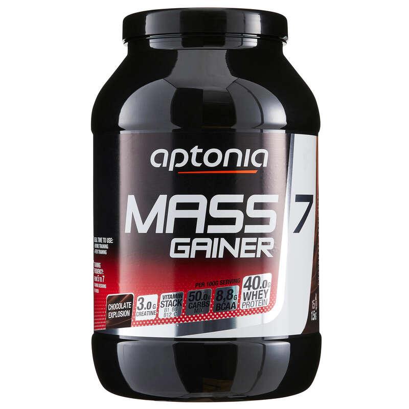 PROTEÍNAS E SUPLEMENTOS ALIMENTARES Cross-Training, Treino Funcional - MASS GAINER 7 chocolate 1,5 kg APTONIA - Desenvolvimento e Manutenção Muscular