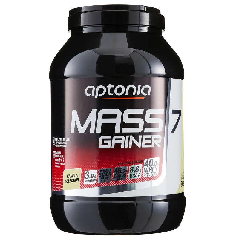 FEHÉRJÉK ÉS ÉTRENDKIEGÉSZÍTŐK Táplálékkiegészítő, sporttáplálkozás - Tömegnövelő Mass Gainer 7 APTONIA - Multisport kiegészítők