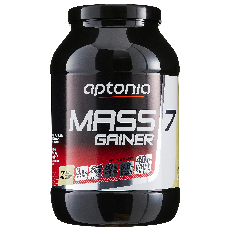 Mass Gainer 7 Vanilie 1.5kg imagine
