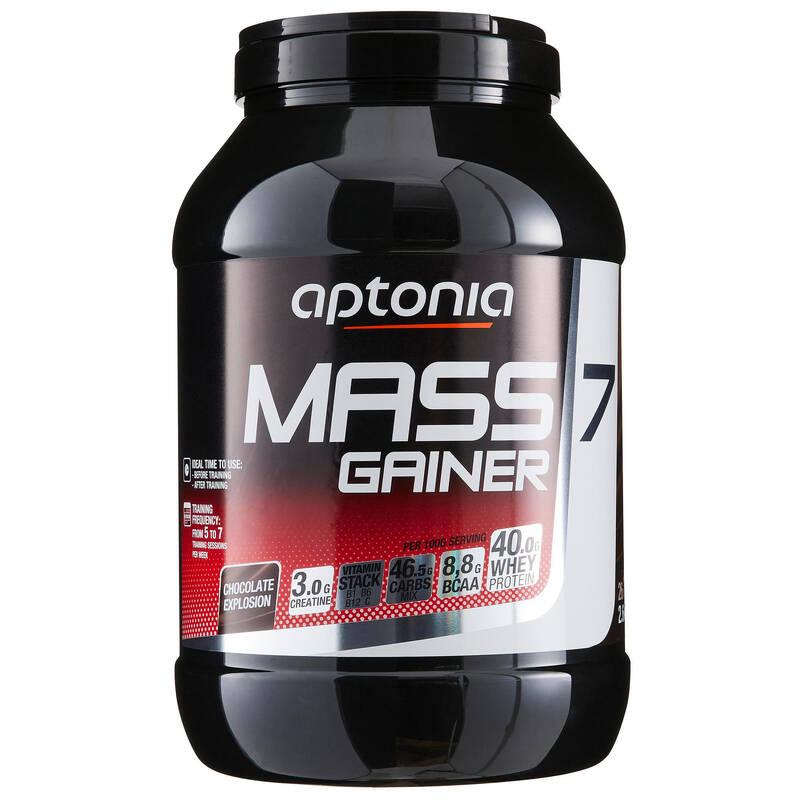 PROTEINY / DOPLŇKY STRAVY Proteiny a gainery - MASS GAINER 7 ČOKO 2,6 KG APTONIA - Proteiny a gainery