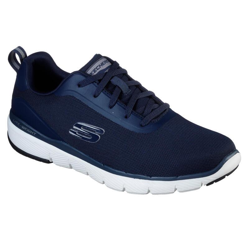 Zapatillas Skechers Flex Appeal Hombre Caminar Azul