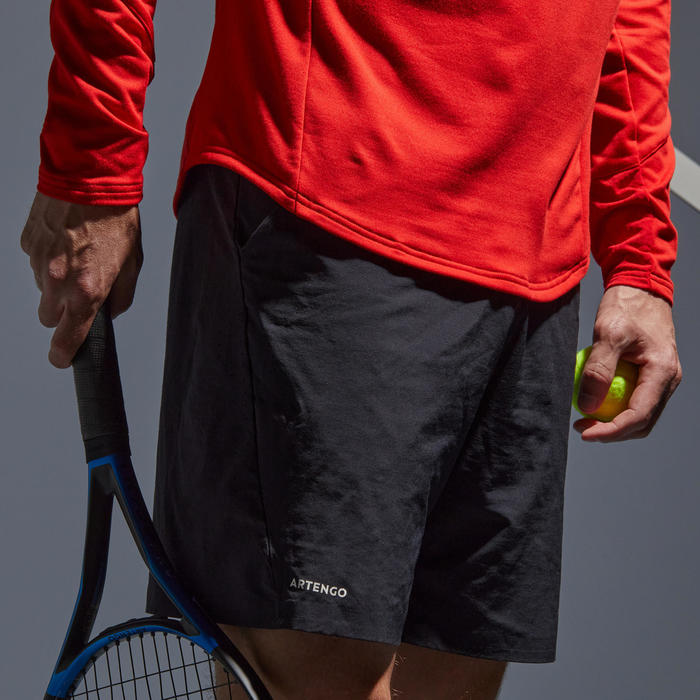 THERMOSHIRT VOOR TENNIS 1/2 RITS ROOD