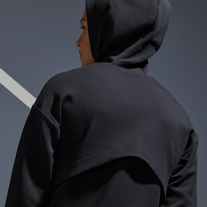 Sweatshirt SW Dry 900 Tennis Damen schwarz